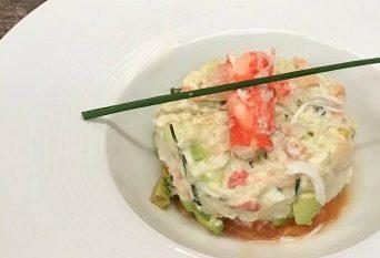 Salade de Crabe Royal d'Alaska