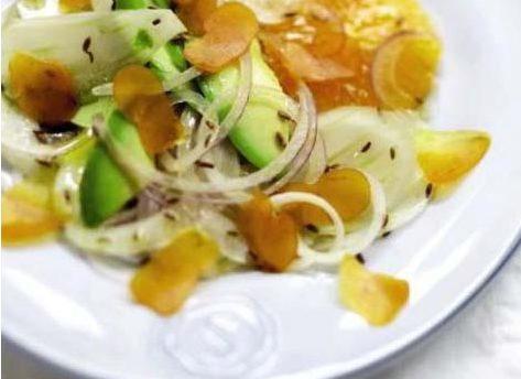 Salade de Poutargue et Fenouil chez Pierrot