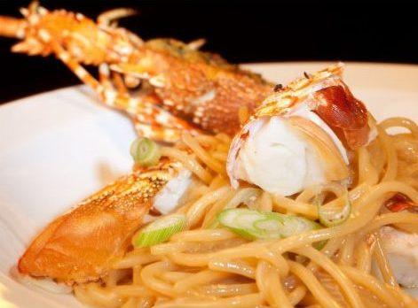 Recette des spaghettis aux langoustes et bouillabaisse
