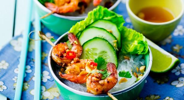 Recette du Bo Bun de crevettes